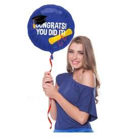 Folija balon za dokončan študij