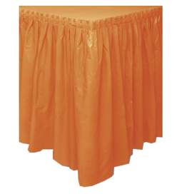 Eleganten namizni prt krilce, oranžen