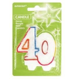 Svečka 40. rojstni dan, Pisana