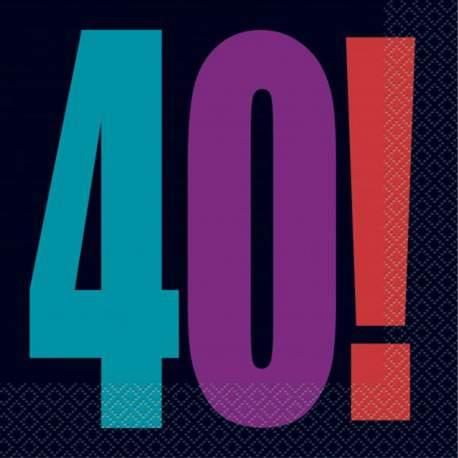 Serviete za 40 rojstni dan, Birthday Cheer