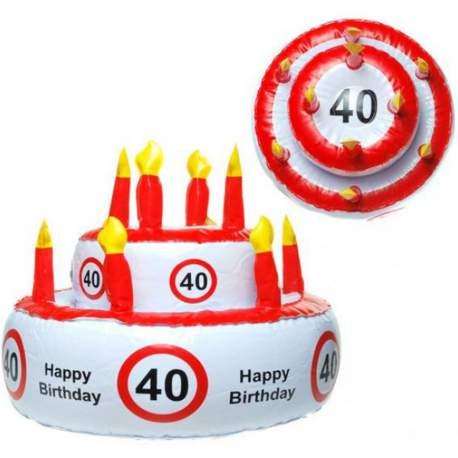 Napihljiva torta za 40. rojstni dan