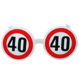 Očala za 40 rojstni dan, Stop znak
