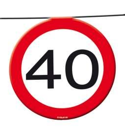 Trak za 40 rojstni dan, Stop znak