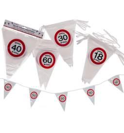 Zastavice za 40. rojstni dan, Stop znak