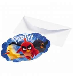 Modra vabila Angry Birds, 8/1