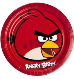 Krožniki Angry Birds 23 cm, 8/1