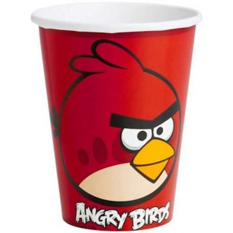 Kozarčki Angry Birds 250 ml, 8/1