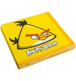 Serviete Angry Birds 33x33 cm, 16/1