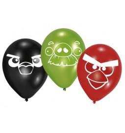 Lateks baloni Angry Birds, 6/1