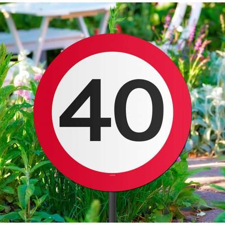 Označevalni znak za 40 let