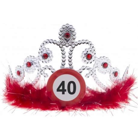Tiara Znak stop za 40 rojstni dan