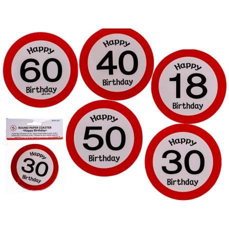 Podloga za kozarec Stop znak 40