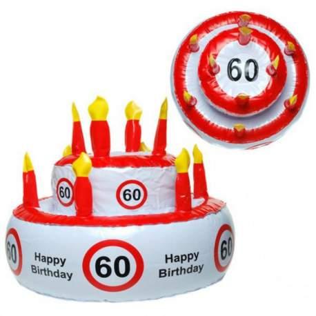 Napihljiva torta za 60. rojstni dan