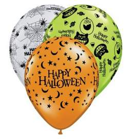 Baloni Happy Halloween 25/1
