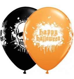 Baloni Happy Halloween Lobanja 25/1