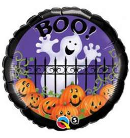 Folija balon Boo Ghost