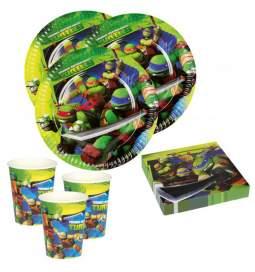 Ninja Želve set za 8 otrok