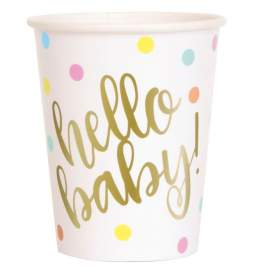 Kozarčki za rojstvo Hello Baby