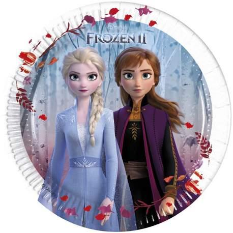 Krožniki Frozen II 20 cm