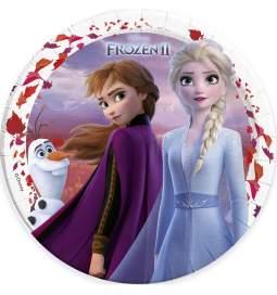 Krožniki Frozen II 23 cm