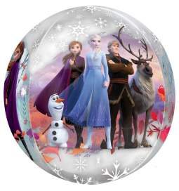 Folija balon Frozen II Orbz