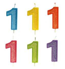 Rojstnodnevna svečka številka 1
