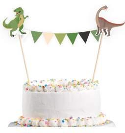 Tortna dekoracija Veseli dinozavri
