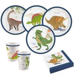 Veseli Dinozavri set za 8 otrok