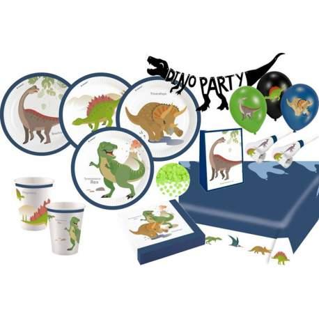 Veseli Dinozavri set za 16 otrok