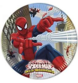 Krožniki Spiderman 23 cm, 8/1