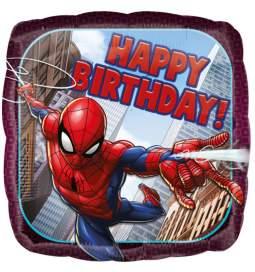 Folija balon Spiderman Happy Birthday