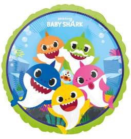 Folija balon Baby Shark
