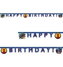 Spiderman transparent Happy Birthday