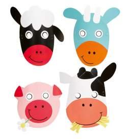Otroške maske Kmetija