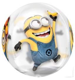 Folija balon Minions Orbz
