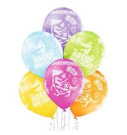 Patelni baloni Birthday Boy Dinozavri 6/1