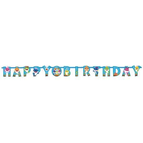 Transparent Baby Shark Happy Birthday