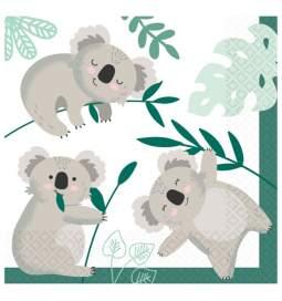Serviete Koala zabava 33x33 cm