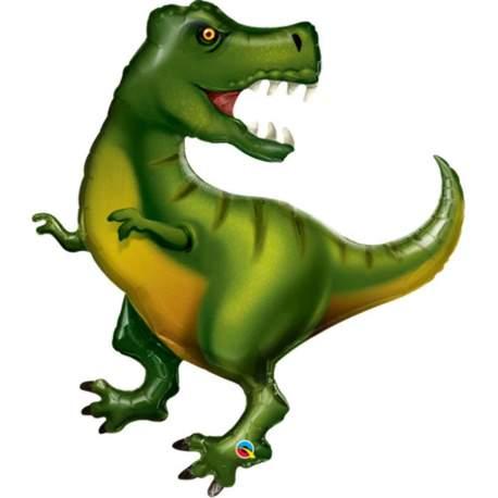 Folija balon Zelen Dinozaver