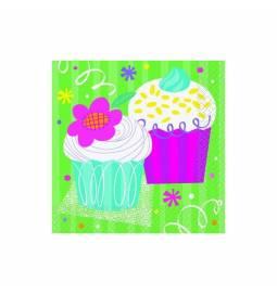 Serviete 33x33 cm, Muffin Party, 16/1