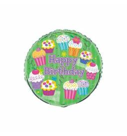 Folija balon Muffin party