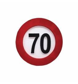 Dekoracija Prometni znak 70