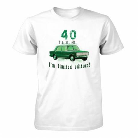 Majica za 40 let, Omejena izdaja
