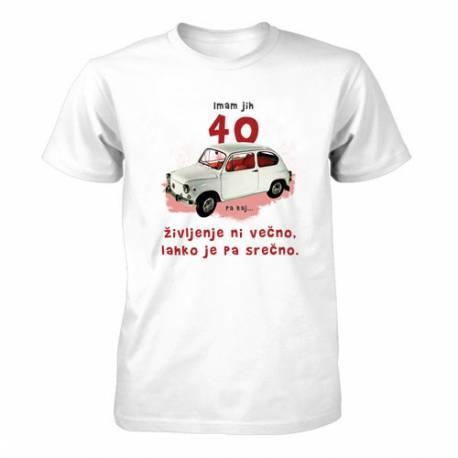 Majica za 40 let, Bel fičo