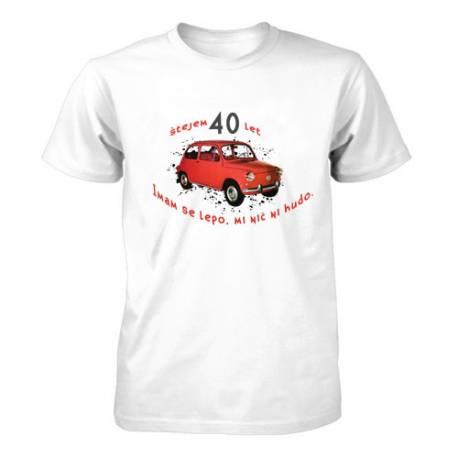 Majica za 40 let, Rdeč fičo