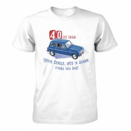 Majica za 40 let, Katrca