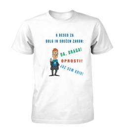 Majica za fantovščino, 6 besed