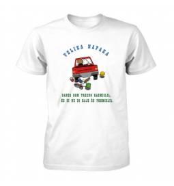 Majica za fantovščino, Velika napaka