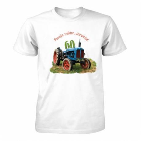 Majica za 60 let, Penzija in traktor