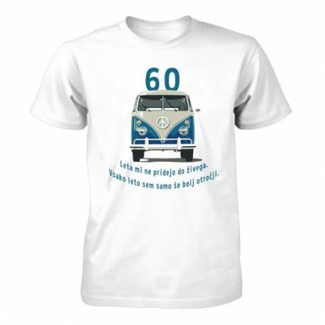 Majica za 60 let, Moder Vw kombi